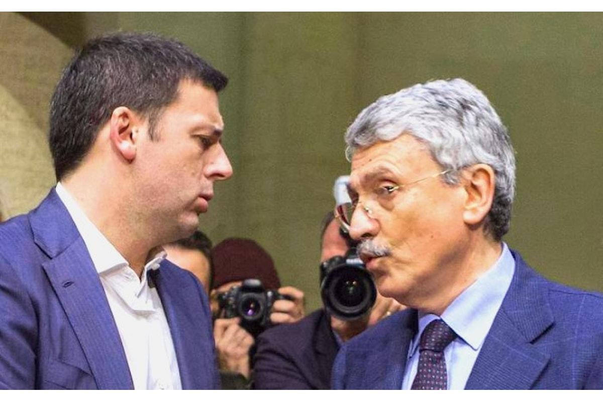 Repubblica conferma, D'Alema - di nuovo - smentisce, ma non dice che voterà Giachetti