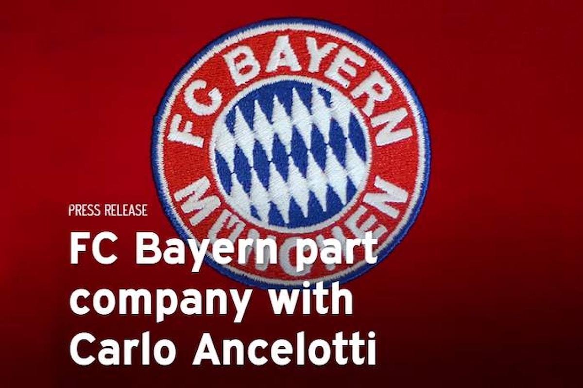 Ancelotti scaricato dal Bayern dopo la sconfitta per 3 - 0 ad opera del PSG