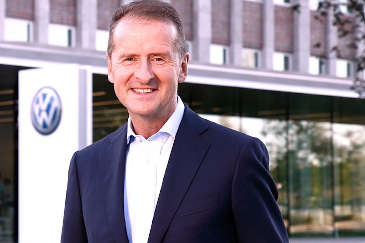 Herbert Diess ha detto che Volkswagen potrebbe arrivare a costruire fino a 50 milioni di vetture elettriche