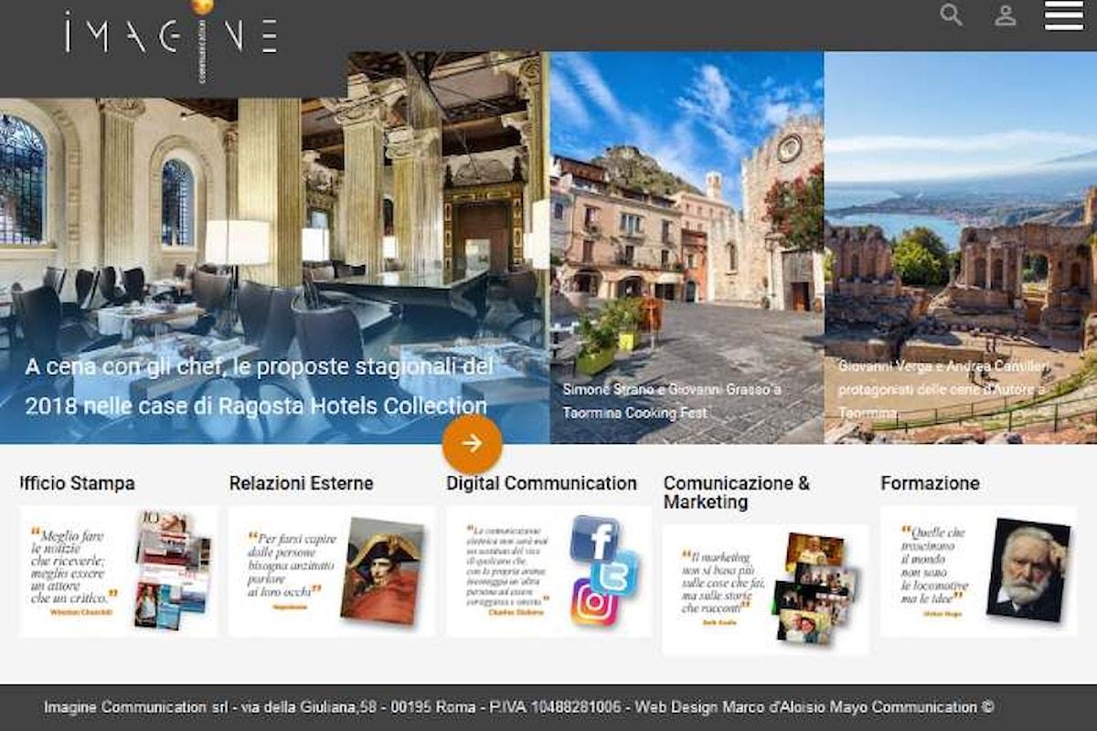 Nuovo sito per IMAGINE Communication
