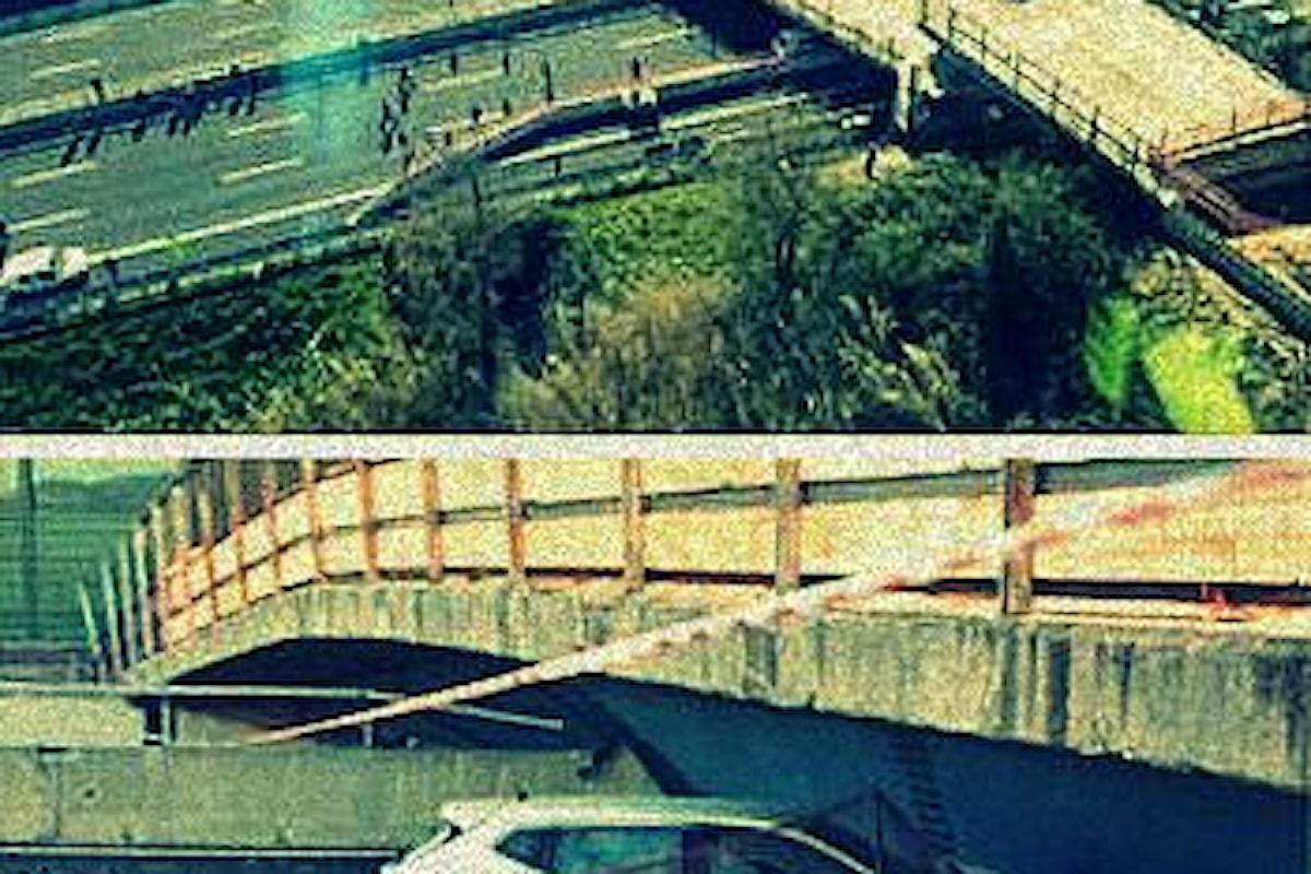 Crollano ponti nelle Marche .. crolla la società italiana a ROMA (e nel Veneto)