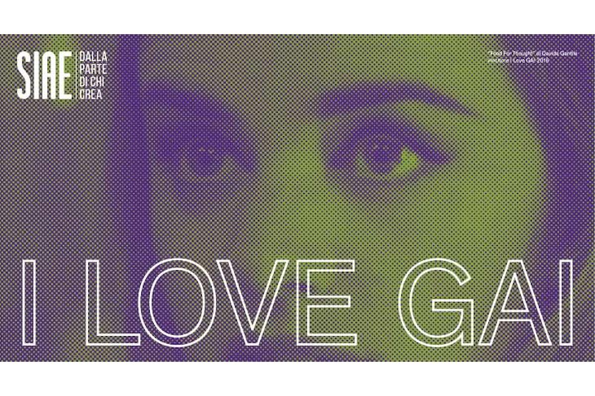 I Love GAI, Giovani Autori Italiani, a Venezia il 31 agosto e il 1 settembre