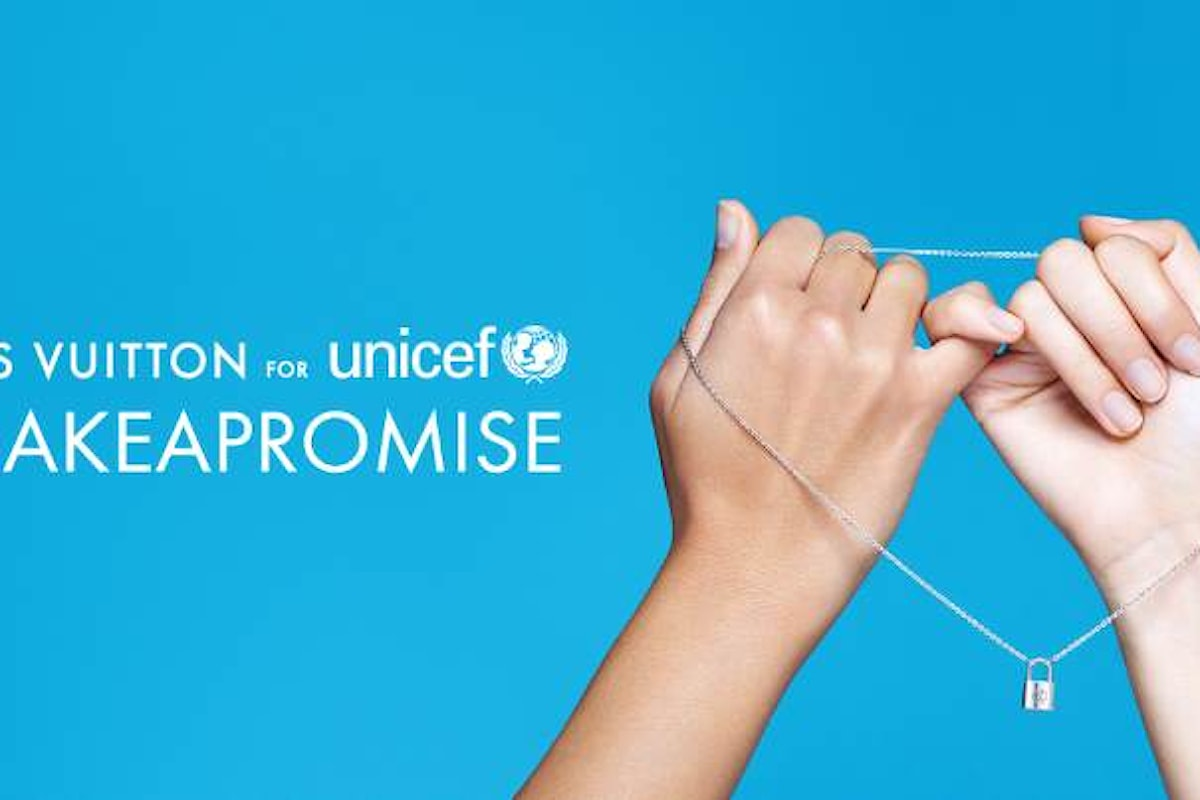 Giovedì 12 gennaio, l'iniziativa di LOUIS VUITTON a favore di UNICEF
