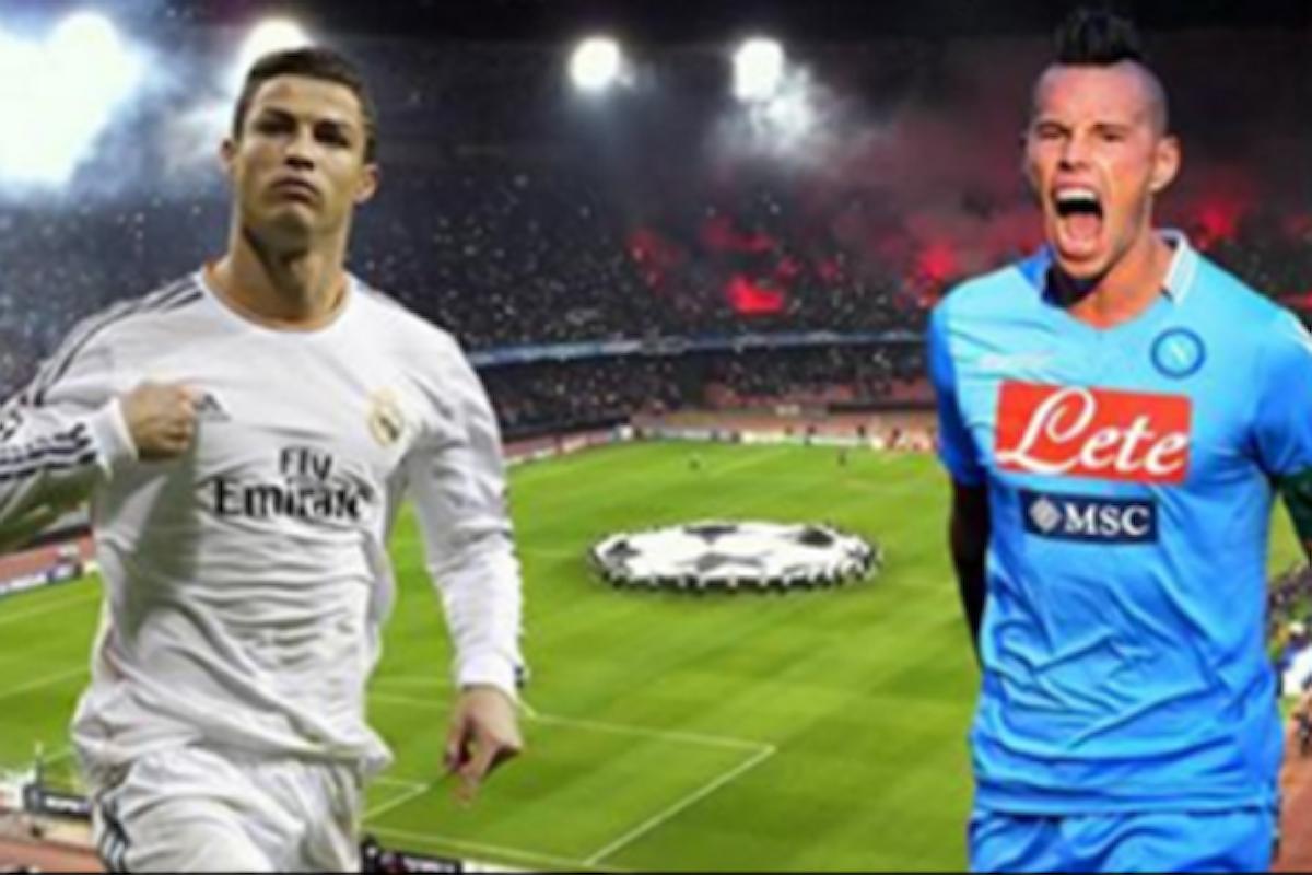 Napoli - Real Madrid: curve a 50 euro per la notte delle stelle