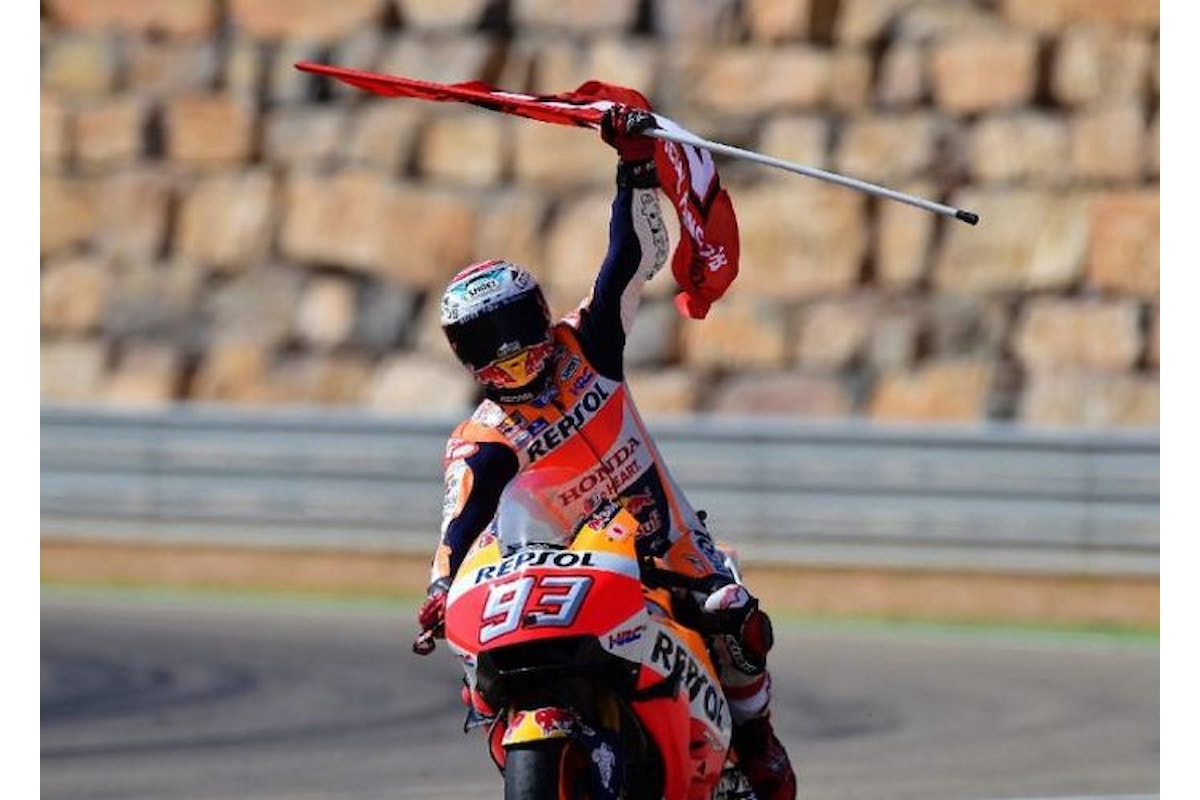MotoGP. Ad Aragona è ancora una volta Marquez a tagliare per primo il traguardo