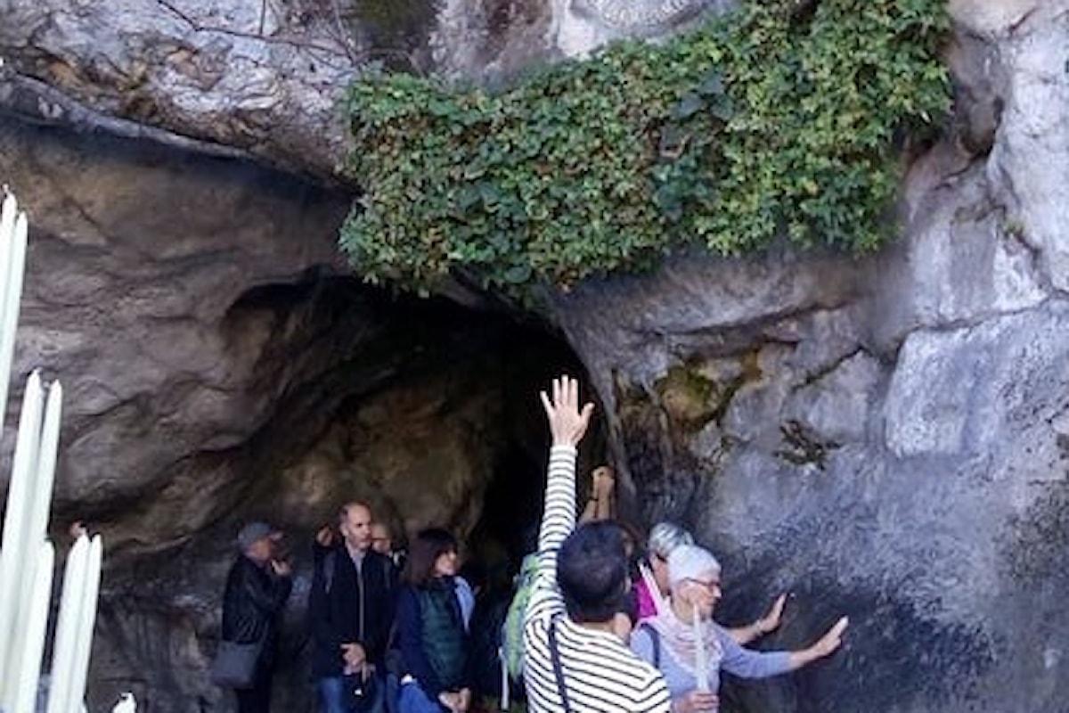 Roberto Becca a Lourdes: quella fede che non l'abbandona mai