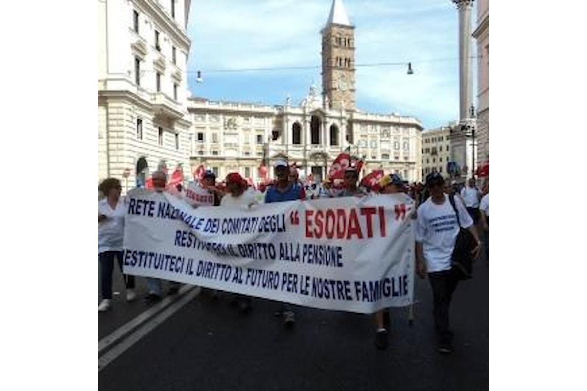 Pensioni: lavoratori esodati, ultime novità al 3 novembre con l'intervista a Francesco Flore