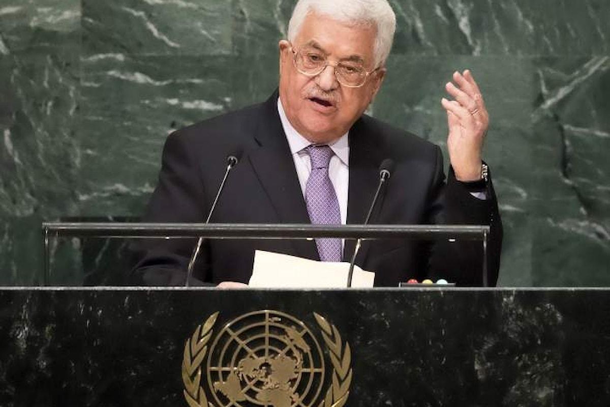 Mahmoud Abbas propone un piano di pace al Consiglio di sicurezza Onu durante la sessione straordinaria del 20 febbraio