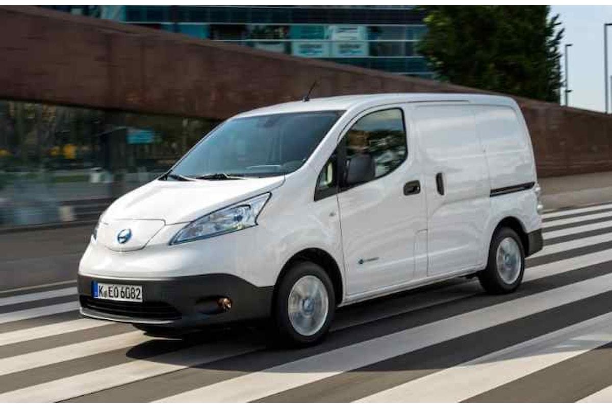 Nissan e-NV200, il van elettrico più venduto in Italia e in Europa