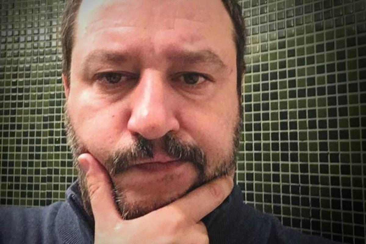 Matteo Salvini all'attacco di Mimmo Lucano, ma finisce per dimostrare di essere o incompetente o bugiardo