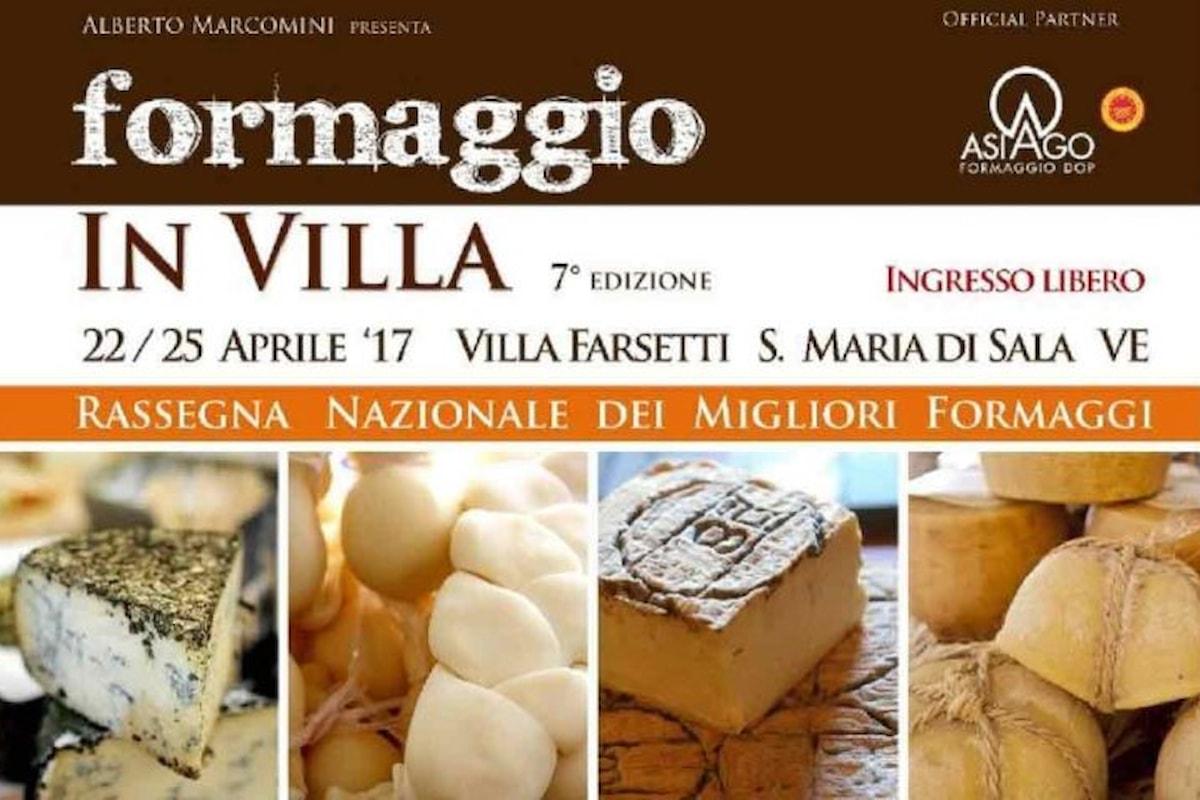Settima edizione di Formaggio in Villa