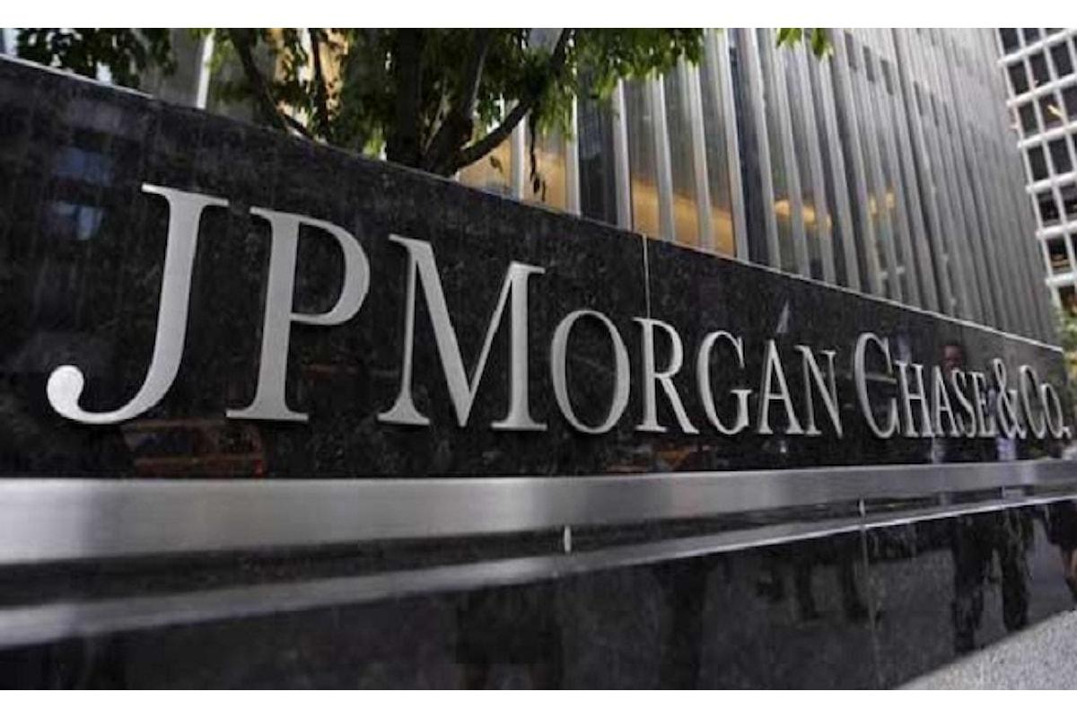Valute virtuali, scatta l'accusa per frode a carico di JP Morgan