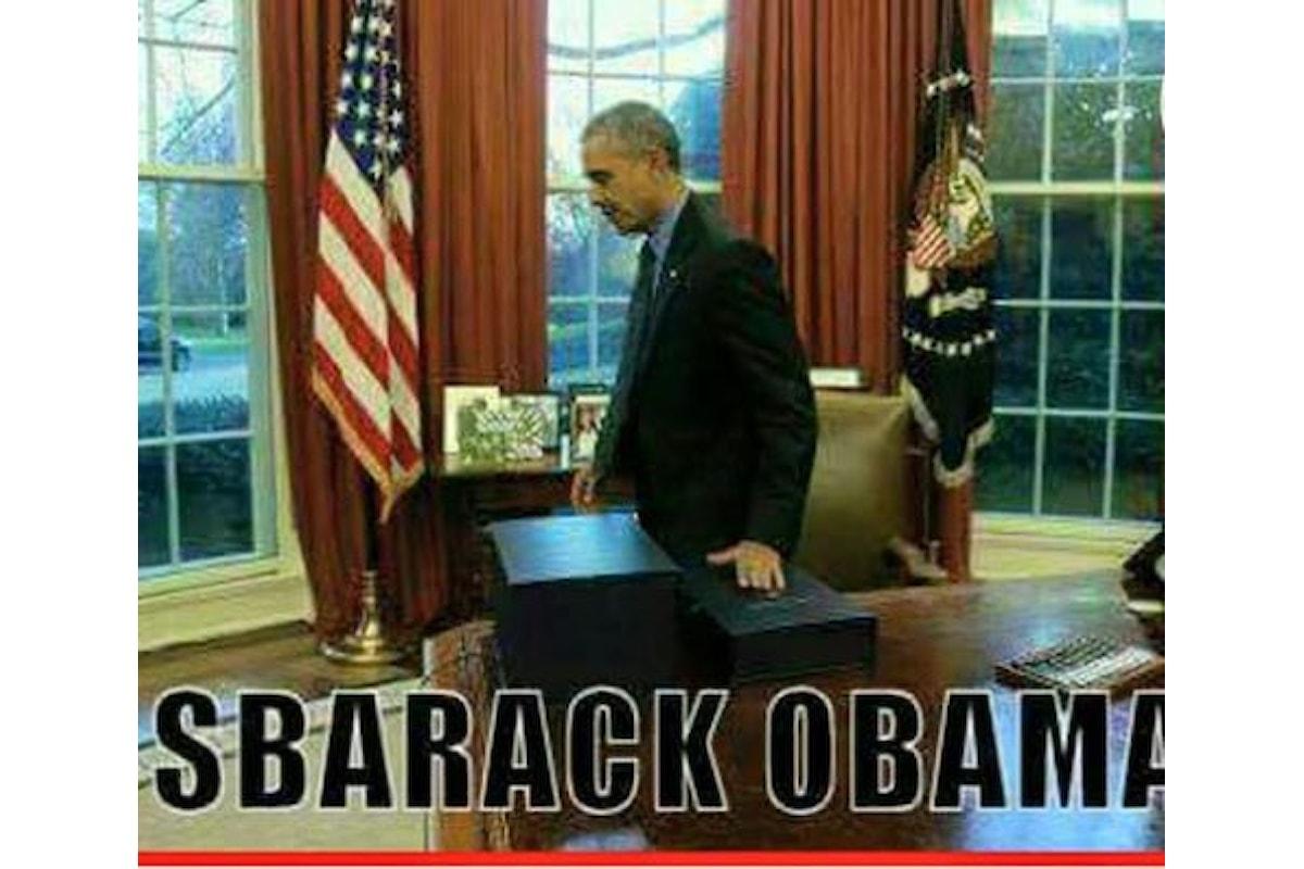 Obama è stato una catastrofe Mondiale, altro che Nobel per la Pace ..