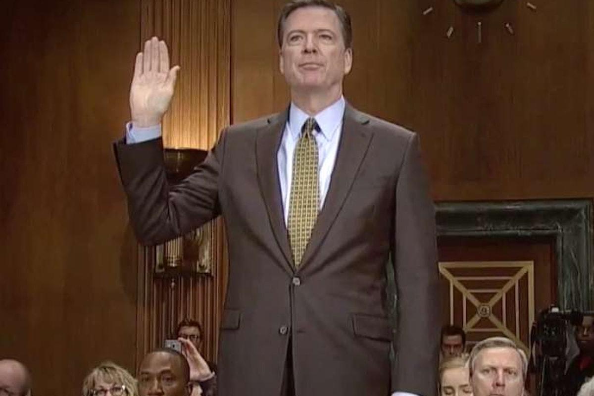James Comey dice al Senato che Trump gli chiese di abbandonare l'indagine su Michael Flynn