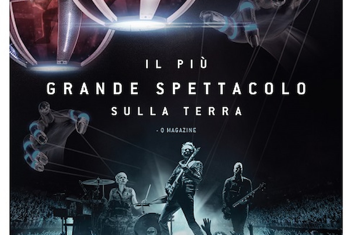 Muse: Drones World Tour, solo per due giorni, il 12 E 13 LUGLIO nelle sale cinematografiche italiane