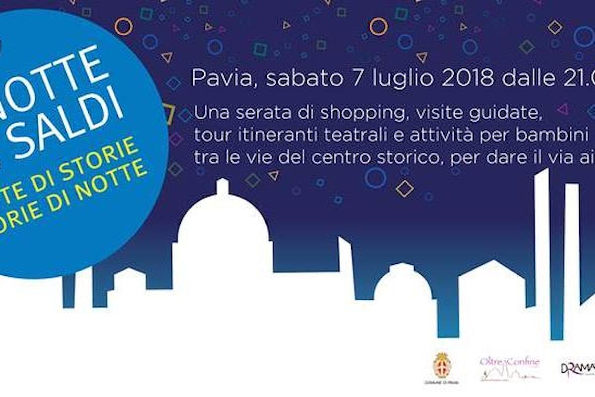 Notte dei saldi a Pavia