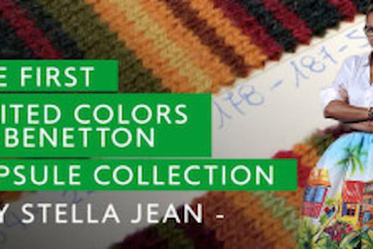 Benetton, la collaborazione con Stella Jean: invito alla felicità