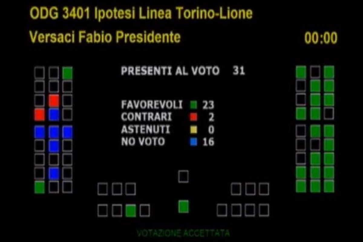 A Torino i 5 Stelle votano lo stop ai lavori della Tav... in attesa che Di Maio dia il via definitivo all'opera