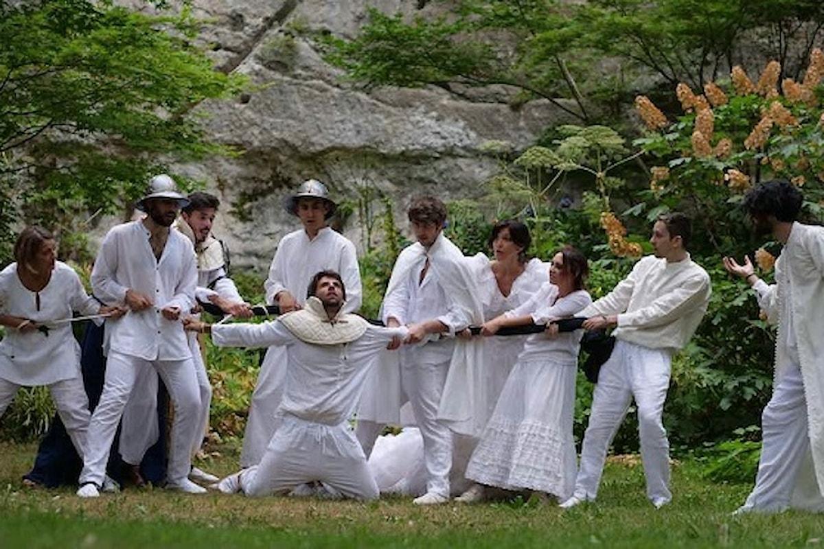Labirinto d'Amore, Orlando Furioso nel Parco Chigi in Ariccia. Duelli, incantesimi, tradimenti e gesta eroiche in nome dell'Amore