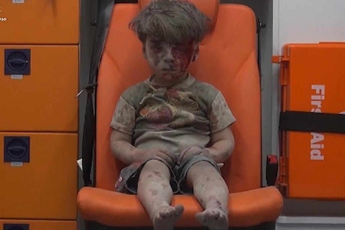 QUANDO I BAMBINI FANNO OH - UN VIDEO RACCONTA LA GUERRA SIRIANA - Un fermo immagine per pensare